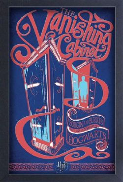 HARRY POTTER -  VANISHING CABINET - PICTURE FRAME (13
