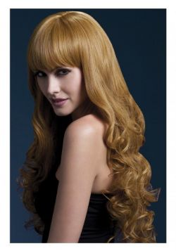 HEAT RESISTANT WIG -  ISABELLE WIG - AUBURN (26 INCH) (ADULT) -  ISABELLE