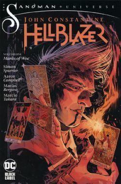 HELLBLAZER -  MARKS OF WOE TP -  JOHN CONSTANTINE, HELLBLAZER 01