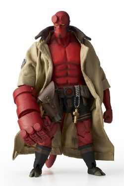 HELLBOY -  HELLBOY ACTION FIGURE (6INCHES)