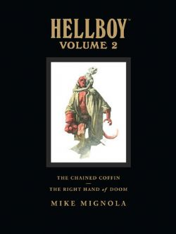 HELLBOY -  THE CHAINED COFFIN AND THE RIGHT HAND OF DOOM (LIBRARY EDITION) HC 02
