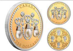 HER MAJESTY QUEEN ELIZABETH II'S TIARAS -  HER MAJESTY QUEEN ELIZABETH II'S LOVER'S KNOT TIARA -  2021 CANADIAN COINS 05