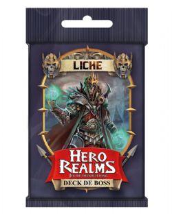 HERO REALMS -  LICHE - DECK DE BOSS (FRENCH)