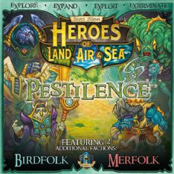 HEROES OF LAND, AIR AND SEA -  PESTILENCE (ENGLISH)