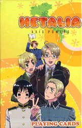 HETALIA AXIS POWERS -  PLAYING CARDS