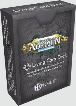 HEXPLORE IT -  FORESTS OF ADRIMON - LIVING CARD DECK (ENGLISH)