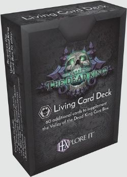 HEXPLORE IT -  VALLEY OF THE DEAD KING - LIVING CARD DECK (ENGLISH)