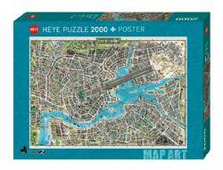 HEYE -  CITY OF POP (2000 PIECES) -  MAP ART