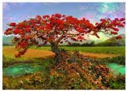 HEYE -  STRONTIUM TREE (1000 PIECES) -  ENIGMA TREES - ANDY THOMAS