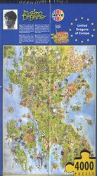 HEYE -  UNITED DRAGONS OF EUROPE (4000 PIECES) -  DEGANO