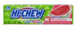 HI-CHEW -  CHEWY FRUIT CANDY - WATERMELON