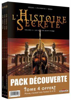 HISTOIRE SECRÈTE -  PACK DÉCOUVERTE TOME 4 À 6