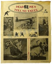 HISTORICAL DOCUMENTS -  DEAD MAN TELL NO TALES (REPRODUCTION)
