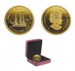 HMS NEW BRUNSWICK (1843) -  2019 CANADIAN COINS