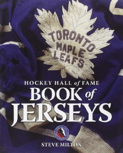 HOCKEY HALL OF FAME -  BOOK OF JERSEYS