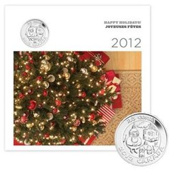 HOLIDAY GIFT SET -  2012 HOLIDAY GIFT SET -  2012 CANADIAN COINS 09