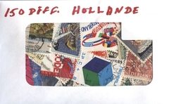 HOLLAND (NETHERLANDS) -  150 ASSORTED STAMPS - HOLLAND (NETHERLANDS)