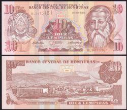 HONDURAS -  10 LEMPIRAS 2010 (UNC)