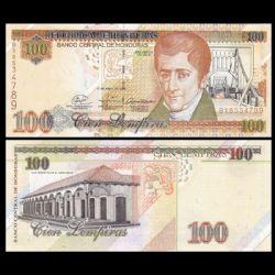 HONDURAS -  100 LEMPIRAS 2008 (UNC)