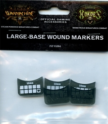 HORDES -  LARGE-BASE WOUND MARKERS
