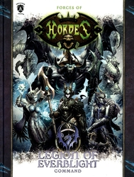 HORDES -  LEGION OF EVERBLIGHT - COMMAND (HARDCOVER) (ENGLISH) -  HORDES