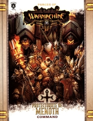 HORDES -  PROTECTORATE OF MENOTH - COMMAND (HARDCOVER) (ENGLISH) -  WARMACHINE