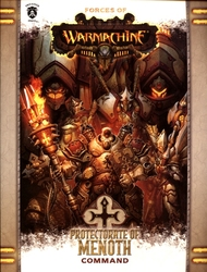 HORDES -  PROTECTORATE OF MENOTH - COMMAND (SOFTCOVER) (ENGLISH) -  WARMACHINE
