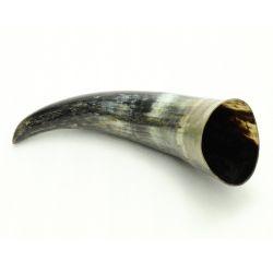 HORNS -  DRINKING HORN - ROUGH NATURAL (750 ML)