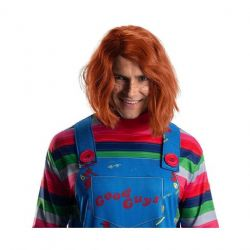 HORROR -  CHUCKY WIG (ADULTE) -  CHILD'S PLAY 2