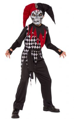 HORROR -  EVIL JESTER (CHILD)