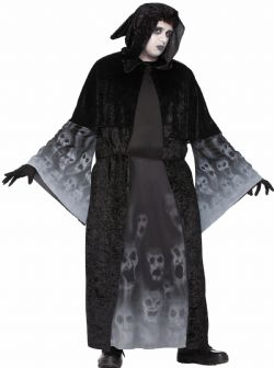HORROR -  FORGOTTEN SOULS COSTUME (ADULT - PLUS SIZE)
