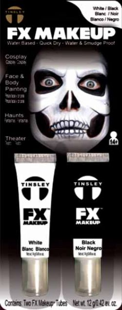 HORROR -  FX MAKEUP KIT, WHITE/BLACK