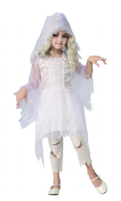 HORROR -  GHOSTLY GIRL COSTUME (CHILD)