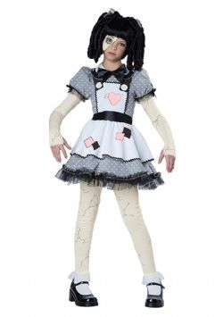 HORROR -  HAUNTED DOLL COSTUME (CHILD - X-LARGE 12-14)