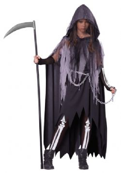 HORROR -  MISS REAPER COSTUME (CHILD)