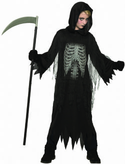 HORROR -  NIGHT REAPER COSTUME (CHILD)
