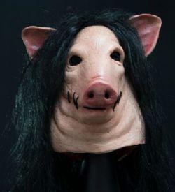HORROR -  PIG MASK - SAW