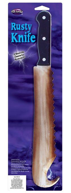 HORROR -  RUSTY KNIFE - BREAD