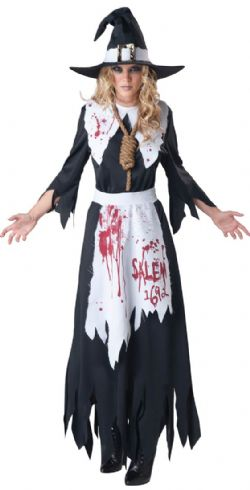 HORROR -  SALEM WITCH COSTUME (ADULT)