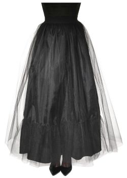 HORROR -  SOULLESS SKIRT - BLACK (ONE SIZE)
