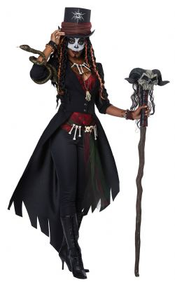 HORROR -  VOODOO COSTUME (ADULT)