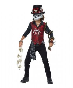 HORROR -  VOODOO HEX COSTUME (CHILD - X-LARGE 12-14)