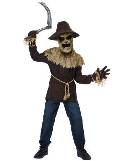 HORROR -  WICKED SCARECROW (CHILD - LARGE 10-12)