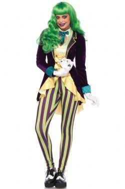 HORROR -  WICKED TRICKSTER COSTUME (ADULT)