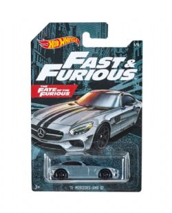 HOT WHEELS -  '15 MERCEDES-AMG GT -  FAST & FURIOUS 1/5