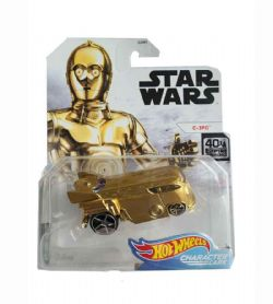 HOT WHEELS -  C-3PO -  STAR WARS