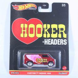 HOT WHEELS -  CUSTOM 77 DODGE VAN -  POP CULTURE CAR 3/5