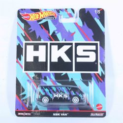 HOT WHEELS -  MBK VAN -  POP CULTURE CAR 1/5