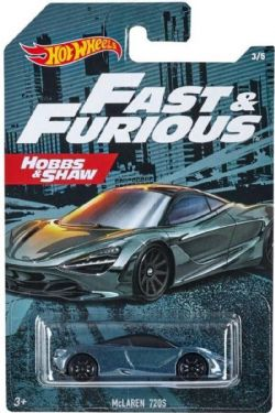 HOT WHEELS -  MCLAREN 720S -  FAST & FURIOUS 3/5