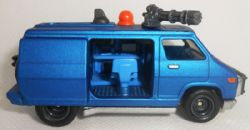 HOT WHEELS -  PUNISHER VAN -  THE PUNISHER